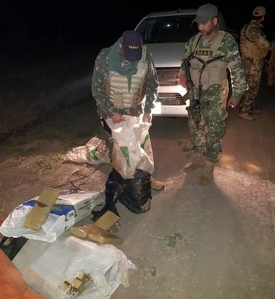 "Detectan carga ""enfriada"" de Marihuana en el Chaco"