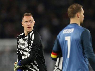 Ter Stegen responde a Neuer