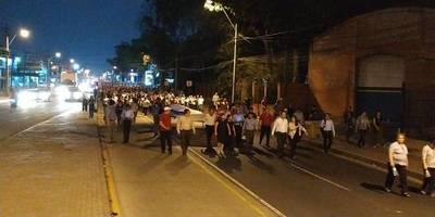 Marchan para exigir reprogramación presupuestaria