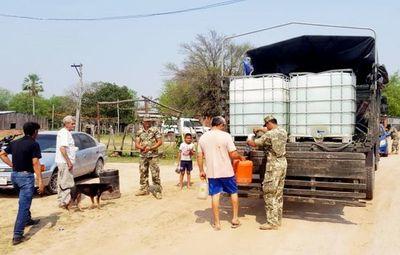 Escasea agua en Alto Chaco