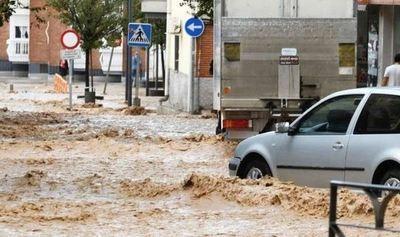 Millonarias pérdidas por las inundaciones y lluvias en España