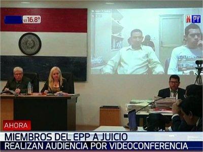 Arranca juicio por videoconferencia a supuestos miembros del EPP