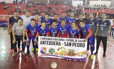 Los locales San Pedro y Antequera siguen firmes en Nacional de futsal C17