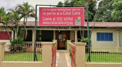 Casa Cuna fue beneficiada con una ampliación presupuestaria
