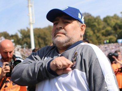Maradona se ausenta en el entrenamiento de Gimnasia