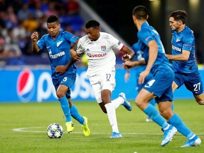 """El Lyon prolonga su """"maleficio"""" ante el Zenit"""