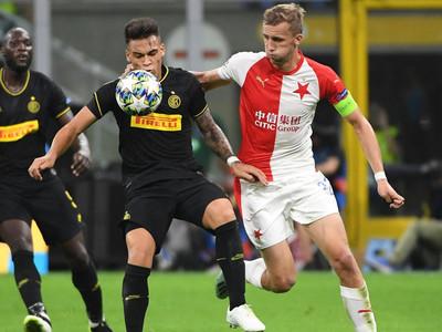 Inter rescata un punto sobre la hora ante Slavia Praga