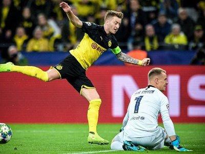 El Barcelona sobrevive en Dortmund con un gran Ter Stegen