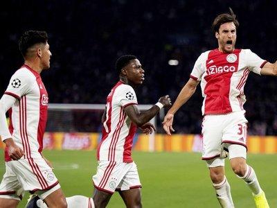 El Ajax vuelve a ilusionarse en Europa con una goleada