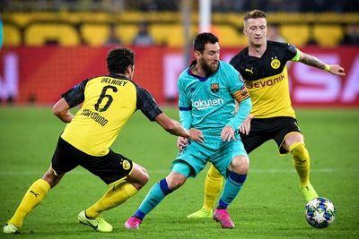 El Borussia Dortmund no aprovecha su chance e iguala con Barcelona