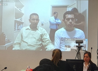 En marcha primer juicio por videoconferencia a epepistas