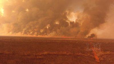 Investigan a 15 estancieros sospechados de provocar incendios forestales