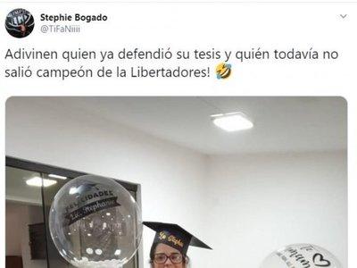 """""""Adivinen quién ya defendió su tesis y quién todavía no ganó la Libertadores"""""""