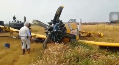 Se desploma avión que combatía incendios en el Chaco