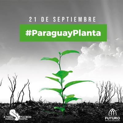 Futuro se une la gran campaña #ParaguayPlanta de A Todo Pulmón