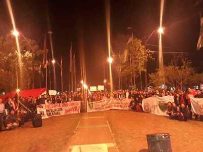 Paro en la UNA: manifestaciones y cierre de rutas hasta que Hacienda responda