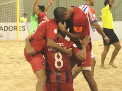 Cerro Porteño, semifinalista en Libertadores de fútbol playa