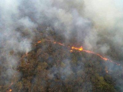 Fuego volvió a estancia Pensilvania y Fiscalía e Infona investigan causas