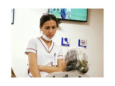 Enfermera se hizo viral por su amabilidad con los pacientes
