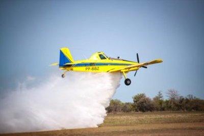 Mandatario confía en capacidad del Estado para aplacar incendios y no descarta solicitar más aviones hidrantes de ser necesario