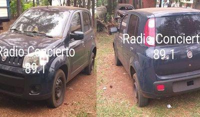 Zonia Alfonso atropelló comisaría de Minga Guazú para liberar a su hermano con auto robado