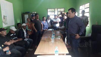 Friedman se reunió con productores de mandioca