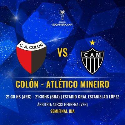 Colón y Mineiro por el boleto a la final de la Sudamericana