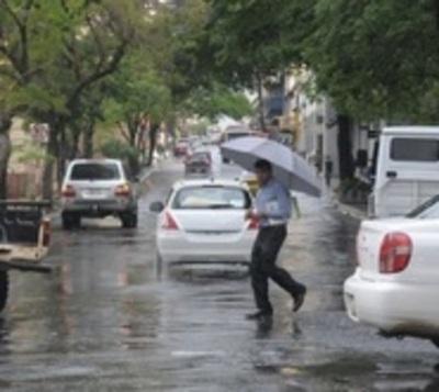 Alerta de tormentas para 7 departamentos
