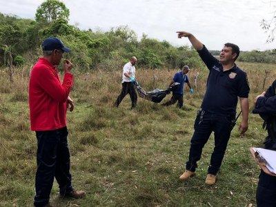 Encuentran cadáver calcinado en Piribebuy