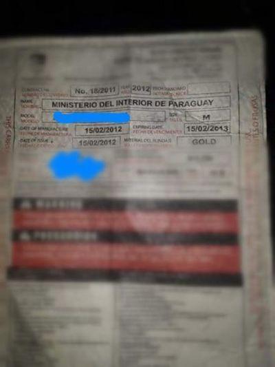 Rejala denuncia que Policía opera con chalecos antibalas vencidos
