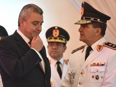 """Mario Abdo ratifica """"por ahora"""" a Villamayor al frente de Interior"""