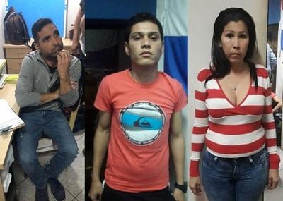 Detienen a tres sospechosos de vaciar cajeros del BNF