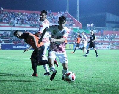 San Lorenzo choca ante un motivado Nacional