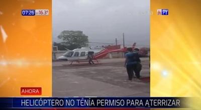 Alumna se mueve en helicóptero para lucirse en olimpiadas