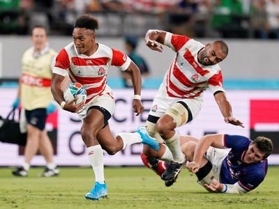 Japón se impone a Rusia en la apertura del Mundial de Rugby