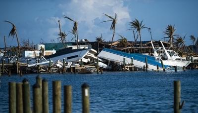 Huracán Dorian destruyó el 80 % del sector pesquero en las Bahamas