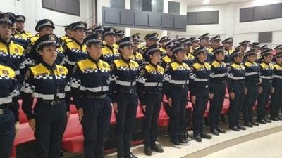 Prieto presenta nuevos agentes PMT en Ciudad del Este