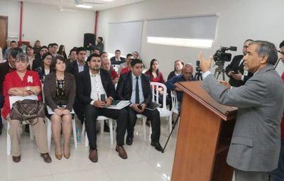 Taller sobre Límites Constitucionales en Caaguazú