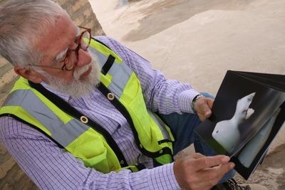 MOPC rescata fragmentos de piezas arqueológicas de la zona de obras de las Oficinas de Gobierno