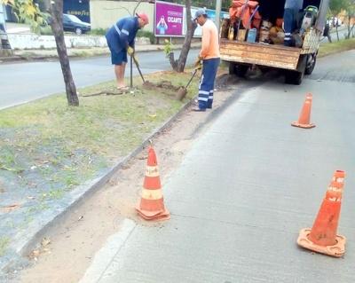 Essap y Municipalidad de Asunción trabajan para evitar roturas de asfalto en la capital