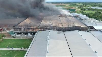 Chortitzer recibió G. 45.919 millones como pago por seguro tras incendio