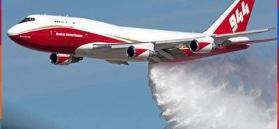 HOY / Ni pistola en la cintura, ni el SuperTanker: aviones chicos contra incendios, piden a Abdo