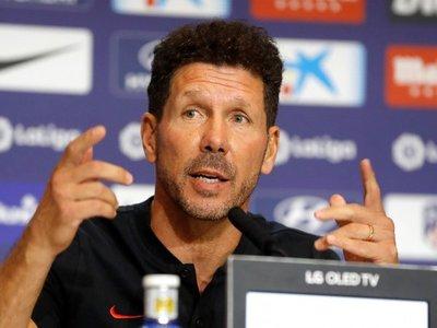 """Simeone: """"Valoramos la calidad de minutos, no la cantidad"""""""