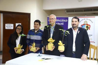 Plantarán 10.000 arbolitos en la Diócesis de San Lorenzo.