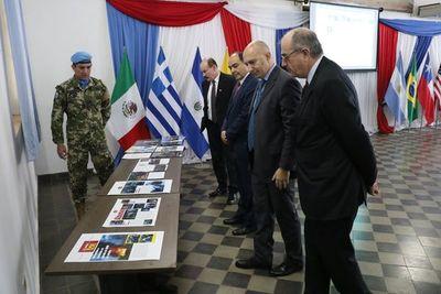 Paraguay está listo para misiones de paz bajo la bandera nacional