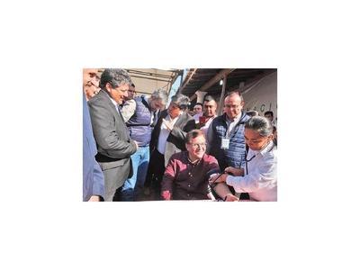 Nicanor defiende a  Mario Abdo y pide dejar de  sabotear al Gobierno