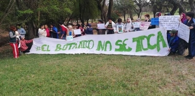 HOY / Guerra por el Corredor Vial  Botánico: MOPC no parará la  obra y niega supuesta orden