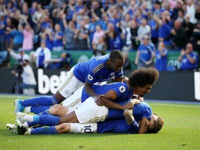 Fantástica remontada del Leicester ante Tottenham