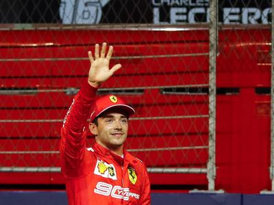 Leclerc consigue en Singapur su tercera pole