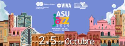 AsuJazz 2019 se viene con cuatro días de espacios culturales, populares e históricos, en Asunción